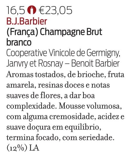 2016-12 Revista de Vinhos 325_B.J. BARBIER BRUT
